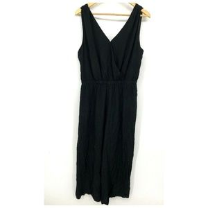 Madewell Womens Jumpsuit Sleeveless Snap Front L